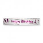 """Druckband """"Happy Birthday"""""""