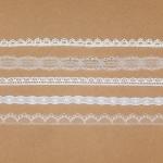 Spitzenbänder-Paket schmal 5 x 1 Meter