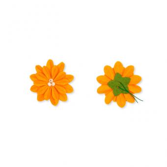 Filz-Blüte