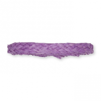 Flechtband Natur-Raffia lavendel