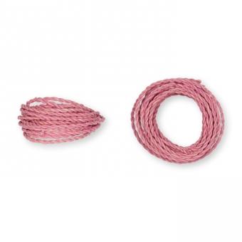 Kordel Natur-Raffia rosa