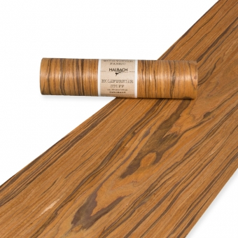 Holzfurnier-Stoff 20 cm | braun