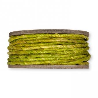 Maisstroh-Schnur grün