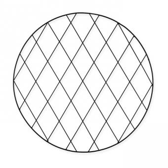 Metall-Deko, rund