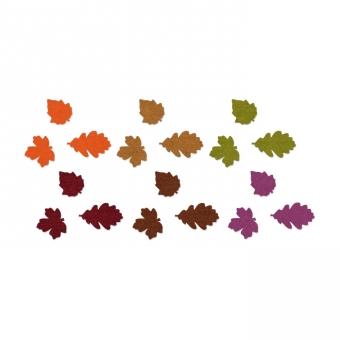 Filz-Sortiment Herbstblätter