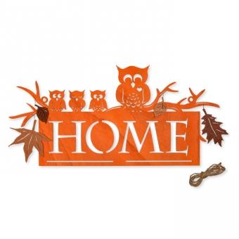 """Holz-Schild """"HOME"""""""