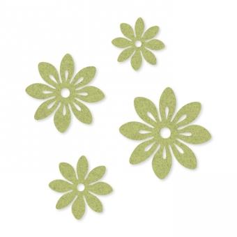 Filz-Sortiment Blüten