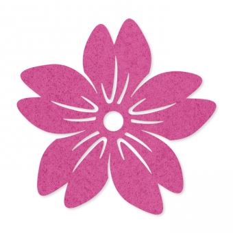 Filz-Blüten