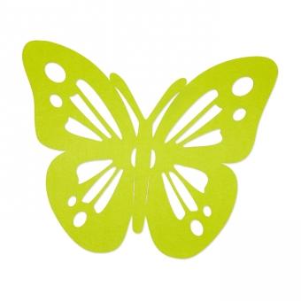 """Filz-Deko """"Schmetterling"""""""