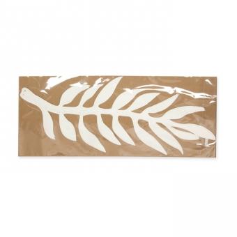 """Papier-Deko """"Blätter"""" 43 x 16 cm"""