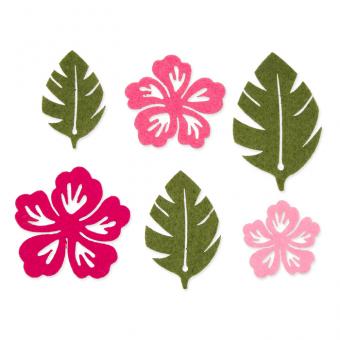 """Filzsort. """"Blumen/Blätter"""""""