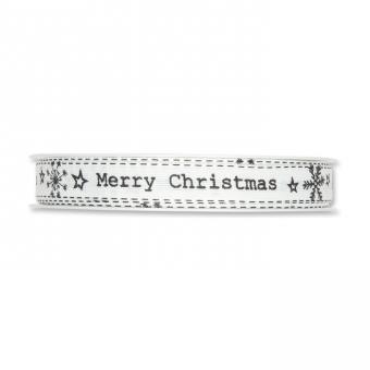 """Druckband """"Merry Christmas"""""""