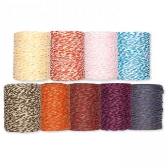 Papierkordel, 2-farbig