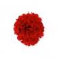 Papier Pompon DIY, Farbe: rot