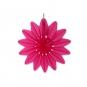 "Wabenpapier ""Blume"", Farbe: pink"