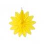 "Wabenpapier ""Blume"", Farbe: gelb"