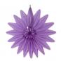 """Wabenpapier """"Blume"""", Farbe: lila"""