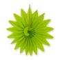 "Wabenpapier ""Blume"", Farbe: grün"