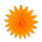 "Wabenpapier ""Blume"", Farbe: orange"