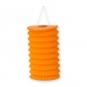 Papier-Lampion, Farbe: orange