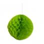 Wabenpapier Kugel, Farbe: grün