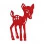 Filz-Rehkitze, Farbe: rot
