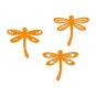 Filz-Libellen, sortiert, Farbe: orange