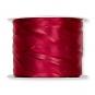Crush-Satinband/-stoff, Farbe: Rot