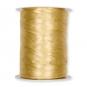 Crush-Satinband/-stoff, Farbe: Gold