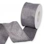 "Dekorationsband ""Glitter"", Farbe: Grau/Silber"