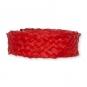 Flechtband Natur-Raffia, Farbe: rot
