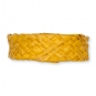 Flechtband Natur-Raffia, Farbe: gelb