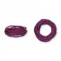 Kordel Natur-Raffia, Farbe: violet