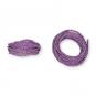 Kordel Natur-Raffia, Farbe: lavendel