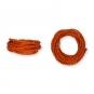 Kordel Natur-Raffia, Farbe: orange