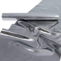 "Dekorationsband/-stoff ""Lamé"", Farbe: Silber"
