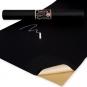 Tafelstoff selbstklebend, Farbe: Schwarz