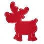 "Tafelstoff-Sticker ""Elch"", Farbe: rot"