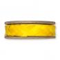 Holz-Flechtband, Farbe: gelb