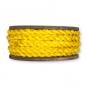 Maisstroh-Flechtband, Farbe: gelb