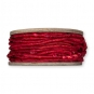 Maisstroh-Schnur, Farbe: rot