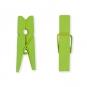 Mini-Holz-Klammern, Farbe: grün
