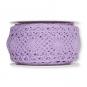 Häkelspitze, Baumwolle, Farbe: lavendel