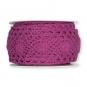 Häkelspitze, Baumwolle, Farbe: pink