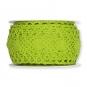 Häkelspitze, Baumwolle, Farbe: grün