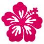 "Filz-Deko ""Hibiskus"", Farbe: Pink"