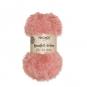 Kunstfell-Schnur 50g ca. 30m, Farbe: Rose