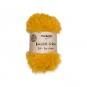 Kunstfell-Schnur 50g ca. 30m, Farbe: Honiggelb