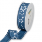 "Druckband ""Sterne"", Farbe: Blau/Weiß"