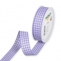 Vichy-Karoband, Farbe: Lavendel